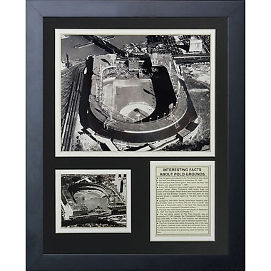 Legends Never Die New York Giants - Polo Grounds Framed Memorabilia