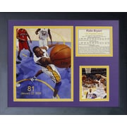 Legends Never Die Kobe Bryant 81 Point Game Framed Memorabilia