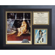 Legends Never Die Star Wars Framed Memorabilia