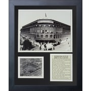 Legends Never Die Ebbets Field - Outside Framed Memorabilia