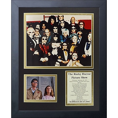 Legends Never Die The Rocky Horror Picture Show Framed Memorabilia