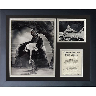 Legends Never Die Creature from The Black Lagoon by Legends Neve Framed Memorabilia