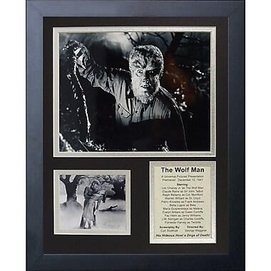 Legends Never Die The Wolf Man Framed Memorabilia