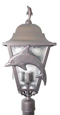 Melissa Americana Dolphin Series 3-Light Lantern Head; White