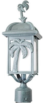 Melissa Americana Palm Tree Series 1-Light Lantern Head; White