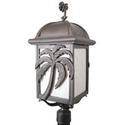 Melissa Americana Palm Tree Series 3-Light Lantern Head; Old Copper