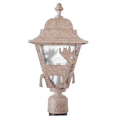 Melissa Americana Deer Series 1-Light Lantern Head; Architectural Bronze