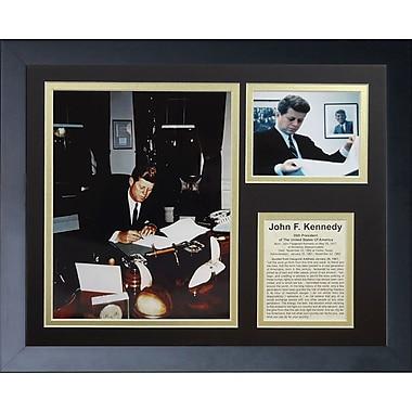 Legends Never Die John F. Kennedy II Framed Memorabilia