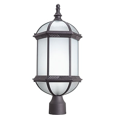 Woodbridge Glenwood Outdoor 1-Light Lantern Head; Powder Coat Rust