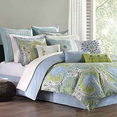 echo design Sardinia 4 Piece Comforter Set; Full
