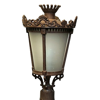 Melissa Tuscany 4-Light Lantern Head; White
