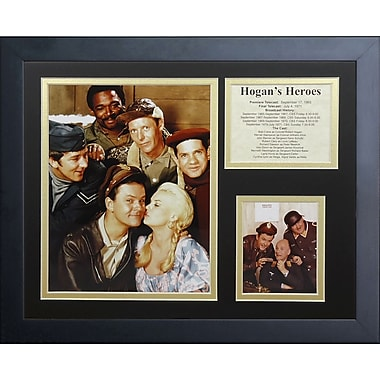 Legends Never Die Hogan's Heroes Framed Memorabilia