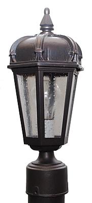 Melissa Kiss Series 1-Light Lantern Head; Verdi Green