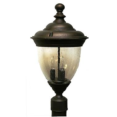 Melissa Tuscany 3-Light Lantern Head; Old Bronze