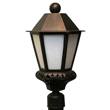 Melissa Tuscany 1-Light Lantern Head; Old Copper