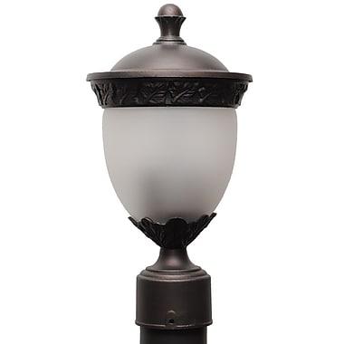 Melissa Tuscany 2-Light Lantern Head; Aged Silver