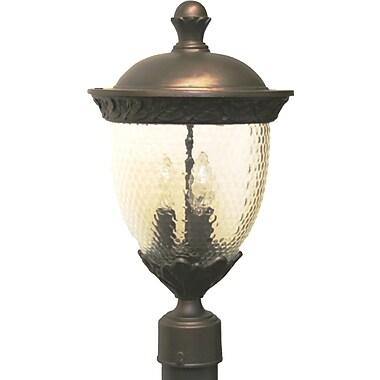 Melissa Tuscany 3-Light Lantern Head; Patina Bronze