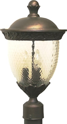 Melissa Tuscany 3-Light Lantern Head; White