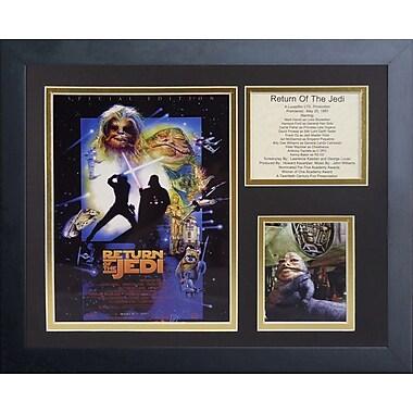 Legends Never Die Star Wars Return of the Jedi Special Edition Framed Memorabilia