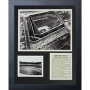 Legends Never Die Ebbets Field - Aerial Framed Memorabilia