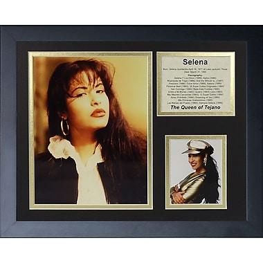 Legends Never Die Selena Framed Memorabilia