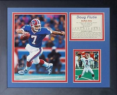 Legends Never Die Doug Flutie Framed Memorabilia