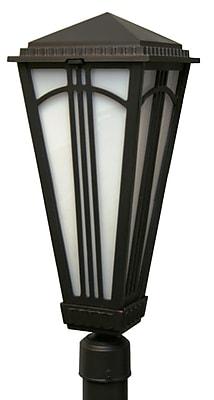 Melissa Parisian Elegance 2-Light Lantern Head; Aged Silver