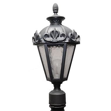 Melissa Parisian Elegance 1-Light Lantern Head; Old Iron