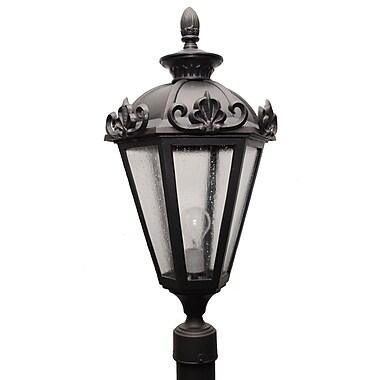 Melissa Parisian Elegance 3-Light Lantern Head; Old World
