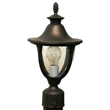 Melissa Tuscany 1-Light Lantern Head; Architectural Bronze