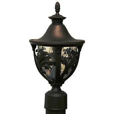Melissa Tuscany 1-Light Lantern Head; White