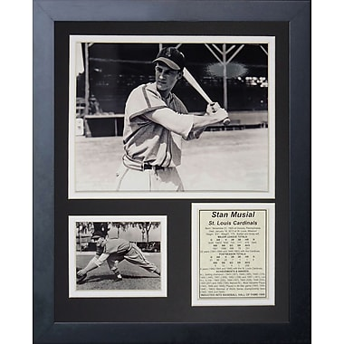 Legends Never Die Stan Musial Young Framed Memorabilia