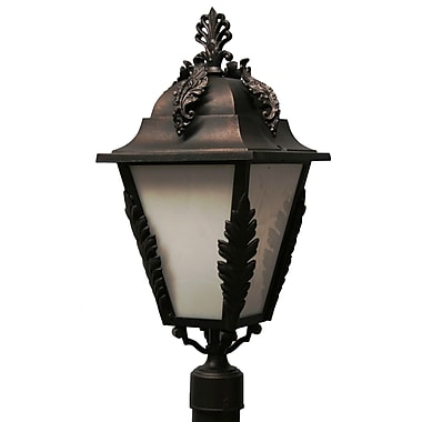 Melissa Parisian Elegance 3-Light Lantern Head; Patina Bronze