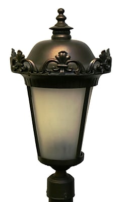 Melissa Parisian Elegance 3-Light Lantern Head; Old Copper