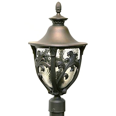 Melissa Tuscany 4-Light Lantern Head; Old Copper