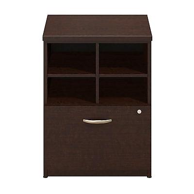 Bush Business Furniture Westfield Elite 24W Pedestal Piler/Filer, Mocha Cherry/Mocha Cherry (WC12903)