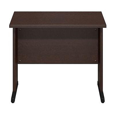 Bush Business Furniture Westfield Elite 36W x 24D C Leg Desk, Mocha Cherry (WC12929)