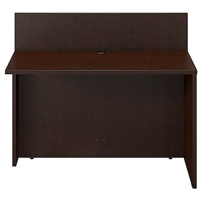 Bush Business Furniture Westfield Elite 48W x 24D Privacy Bridge/Return, Mocha Cherry/Mocha Cherry (WC12908)
