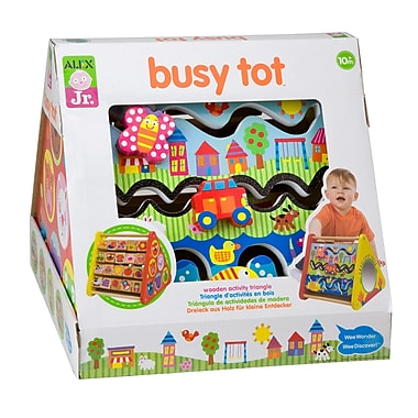 Alex Toys Busy Tot Toy, Solid Wood Base (ALE1993)