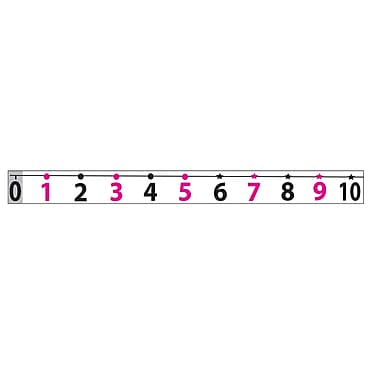 Ashley® Math Die-Cut Magnet, Number Line -20 to 120 (ASH11300)
