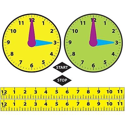 Ashley Math Die-Cut Magnet, Elapsed Time