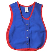 Childrens Factory Heavy Duty Cotton/Poly Manual Dexterity Vest with Snap Closure, One Size