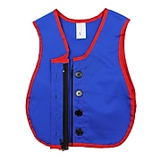 Childrens Factory Combo Zipper/Button Vest