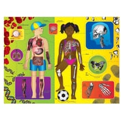 Chenille Kraft Company Activity Puzzle, WonderFoam Giant Our Body