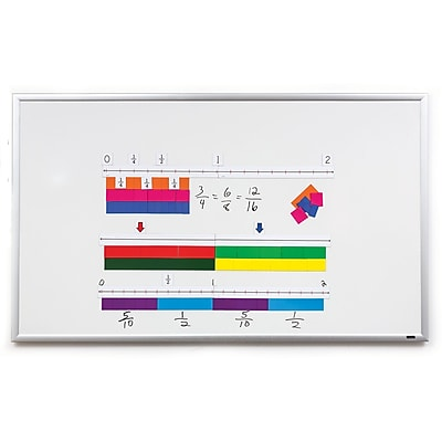 Didax Magnetic Fraction Number Line Set, 32