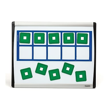 Didax Unifix Magnetic Ten-Frame Card Set, 12 1/2