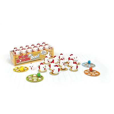 Fat Brain Toys Card Game, Peek-A-Doodle Doo!