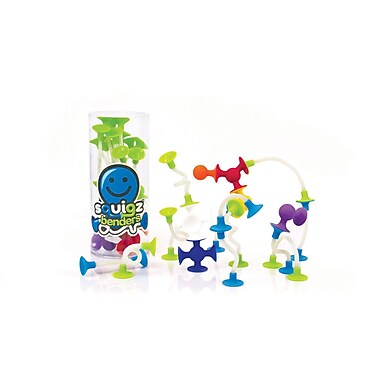 Fat Brain Toys Squigz Benders, 9