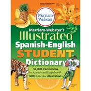 Merriam-Webster Illustrated Spanish-English Student Dictionary, Paperback