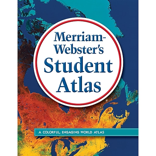"Merriam-Webster Atlas, Student, 8"" x 10"", Each"